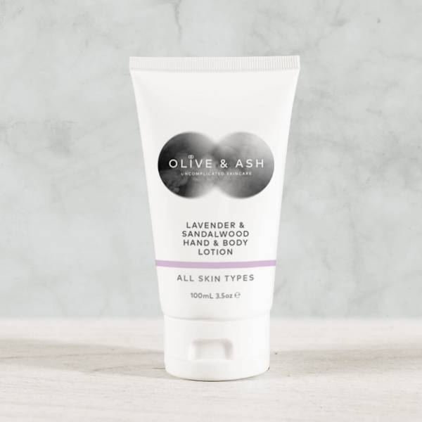 Olive & Ash Lavender and Sandalwood Hand and Body Lotion