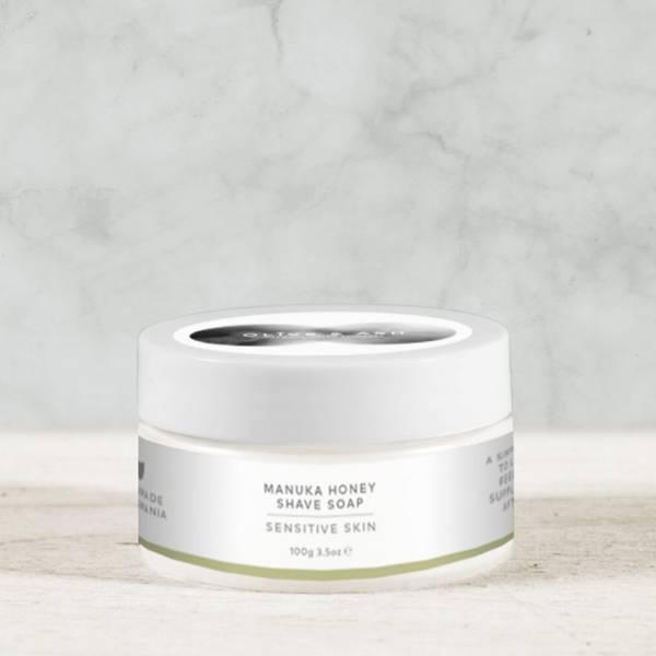 Olive & Ash Manuka Honey Shave Soap