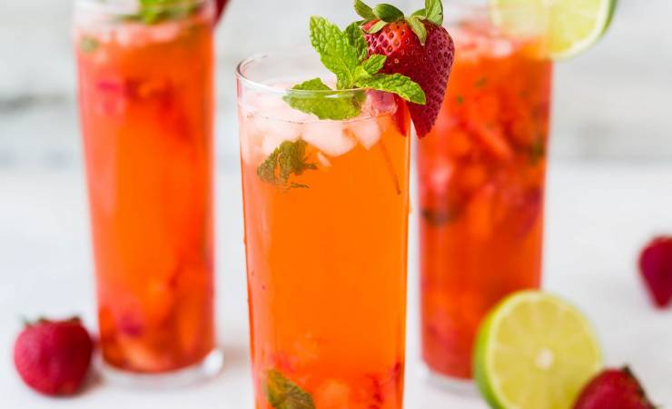 have fun this summer with iced herbal teas